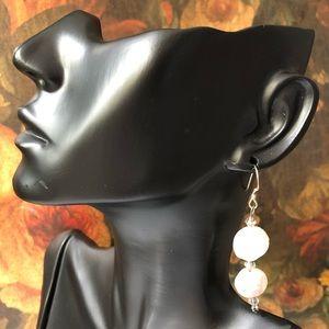 🔥 Vintage Coin Pearl Earrings